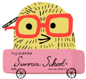 badge for summer school
