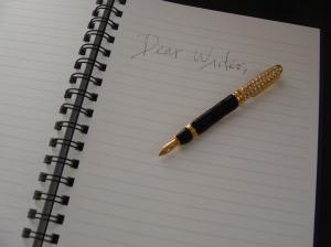 dear writer 001