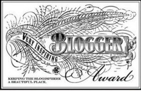 blogger award badge