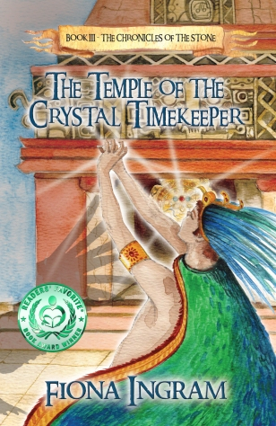 Temple of the crystal timekeeper ingramspark cover (1)