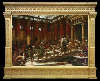 512px-Sir_Edward_John_Poynter_-_The_visit_of_the_Queen_of_Sheba_to_King_Solomon_-_Google_Art_Project